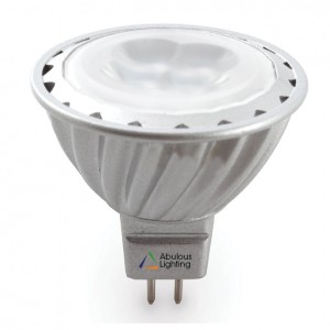 Abulous MR-16 LED replacement bulb.