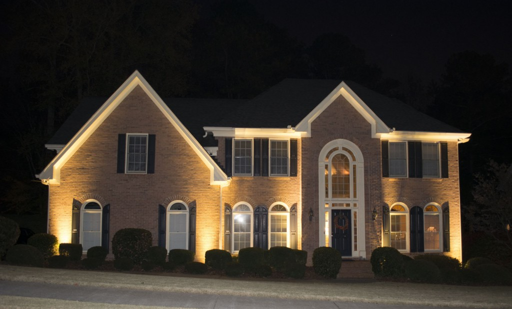 Alpharetta Home with fAbulous Lighting