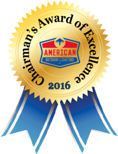 American Outdoor Lighting Chairman's Award